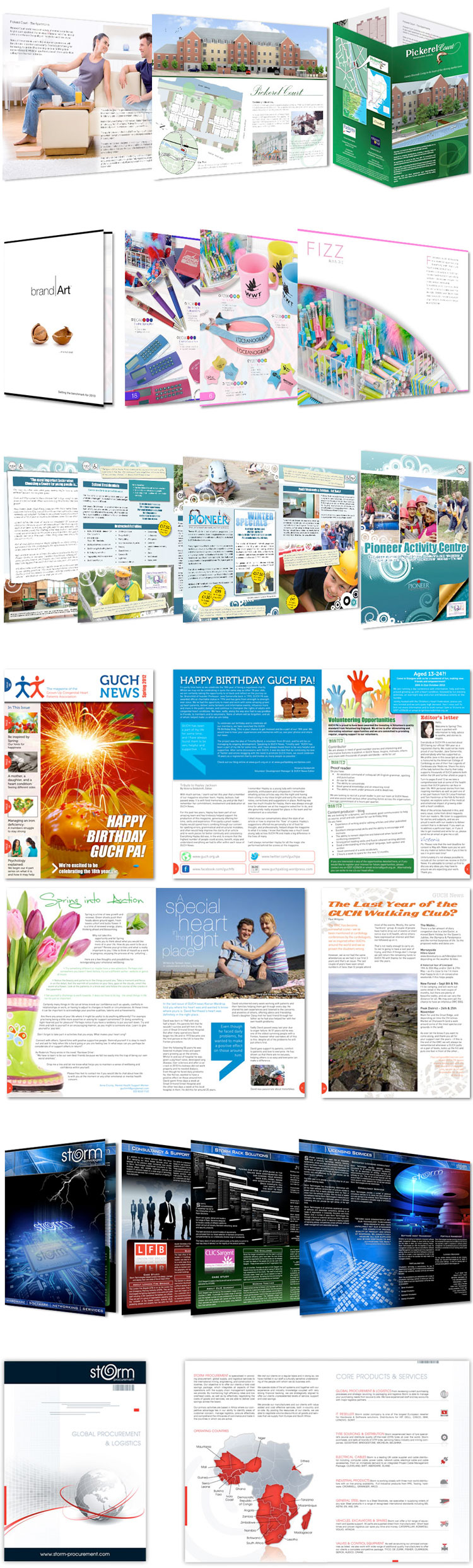 brochure design essex