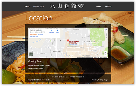 restaurant website in joomla