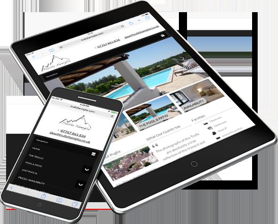 trullo mobile web design