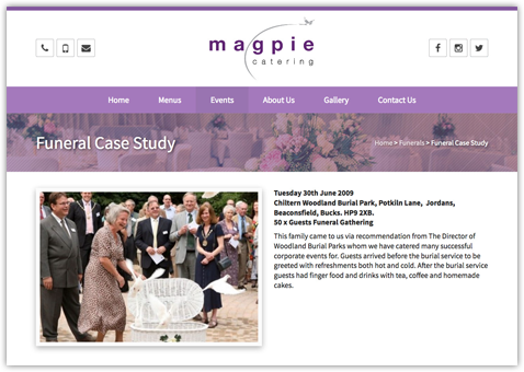 magpie-catetering-web-design