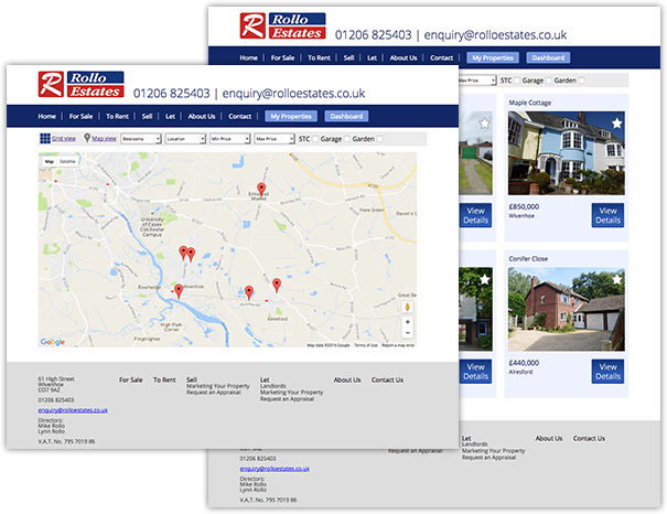 propertysearch by location web development