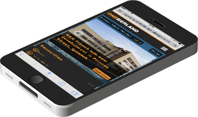 responsive intranet website