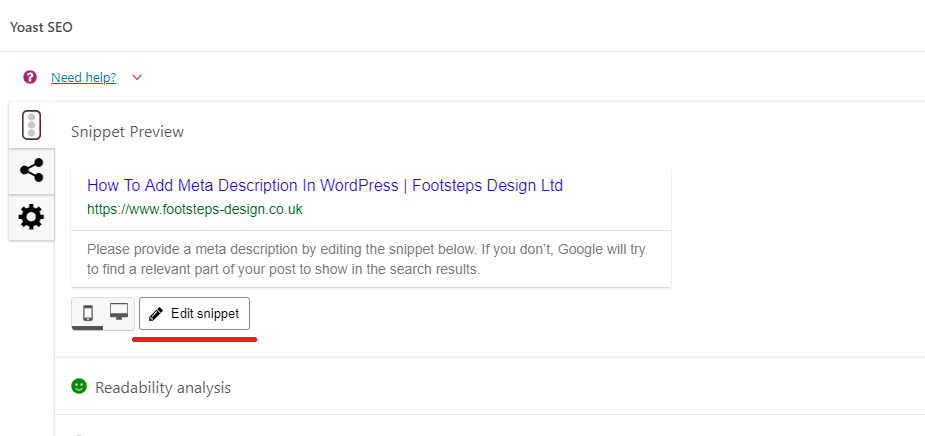 How To Add A Meta Description To A Page Or Post In WordPress