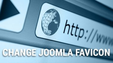 how to change favicon in joomla