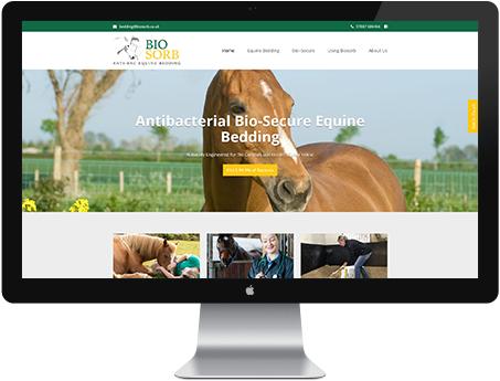 example website design